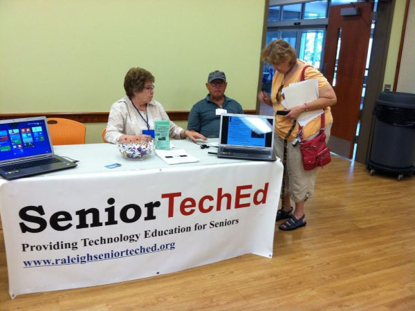 Sign up for SeniorTechEd courses